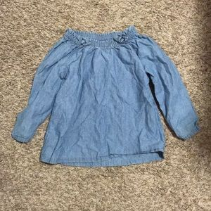 🎉5 for $25🎉 Carter's chambray shirt